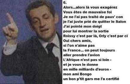 Exclusivité BiBi (6) Sarkozy en Conference de Presse