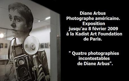 Diane Arbus à la Fondation Kadist Art.