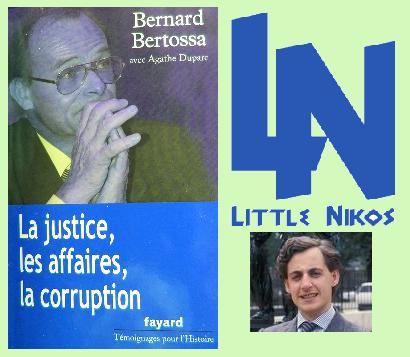 Bernard Bertossa face à Little Nikos.