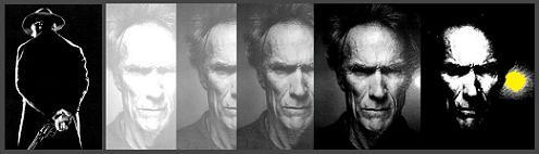 Clint Eastwood, cinq fois.