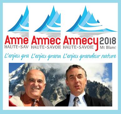 Annecy-Mascarade 2018 avec Christian Monteil et Jean Luc Rigault.