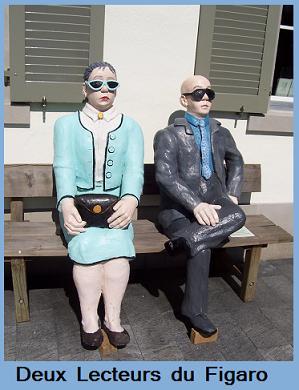 Deux lecteurs du Figaro.