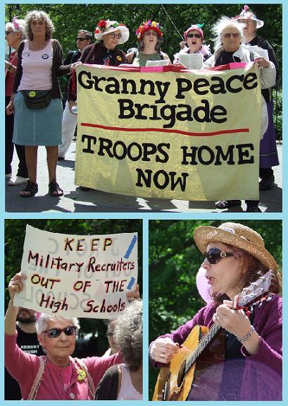 La Granny Peace Brigade