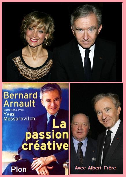 Bernard Arnault, Hélène et Albert Frère.