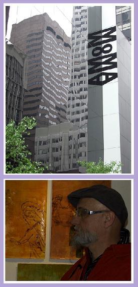 Le MoMa et Charlélie le peintre ( en bâtiment ?)
