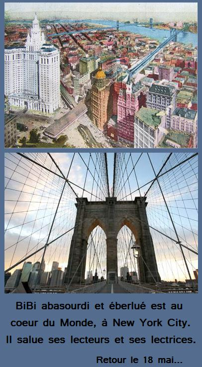New York entre Passé et Futur.