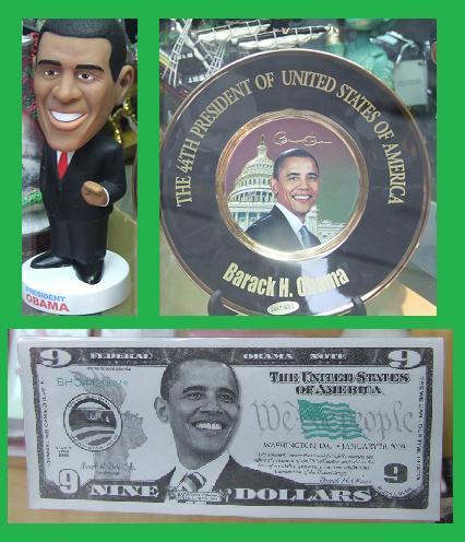 Obama trois fois