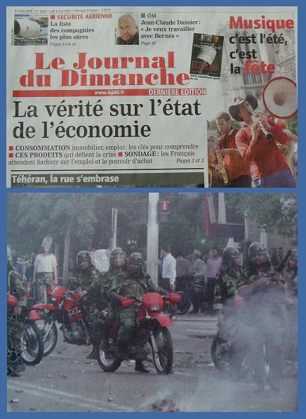 Le JDD du 21 juin 2009
