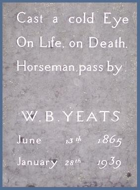 Citation Tombe de Yeats