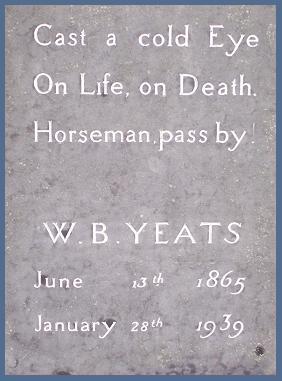 Citation Tombe de Yeats