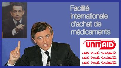 FRANCE-AIDS-HEALTH-UNITAID