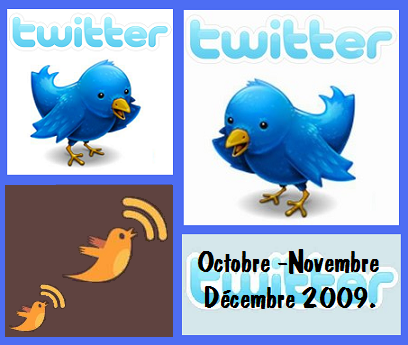 Twitter Oct Nov dec 2009