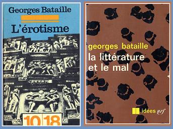 L'Erotisme Litterature et le mal de Georges Bataille