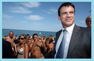 Valls à la plage