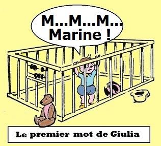 Le premier mot de Giulia
