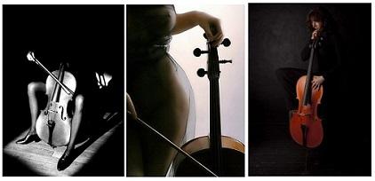 femme au violon BiBi