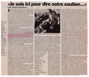 Bourdieu 12 dec 1995