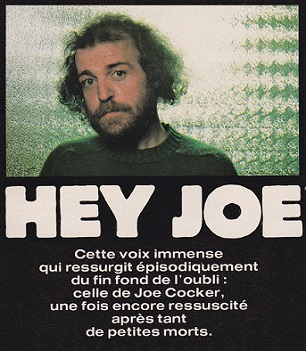 Joe Cocker R et Folk