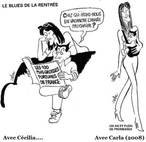 Cécilia et Carla