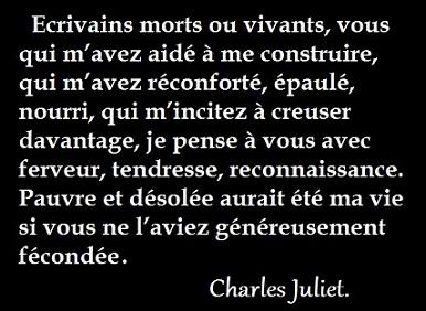 Ecrivains Juliet