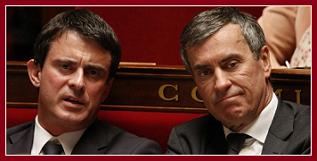Valls et Cahuzac