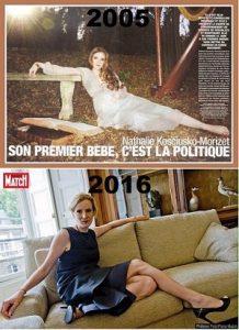 Nathalie K-Morizet #NKM nous refait le coup de la pose libérale chez son copain Lagardère