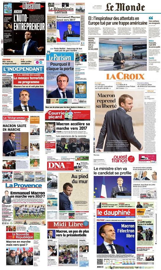 Macron JOURNAUX 1
